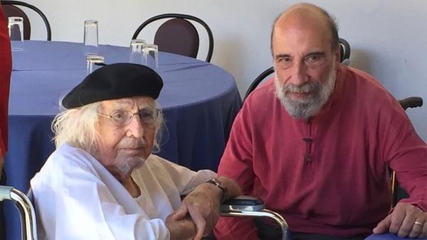 Ernesto Cardenal en el Festival de Poesía de Granada