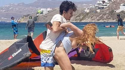 El video que muestra a Lindsay Lohan siendo atacada por su novio Egor Tarabasov