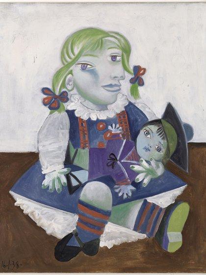 """Maya con sumuñeca"" (1938) © Succession Picasso 2019 (MNPP)"