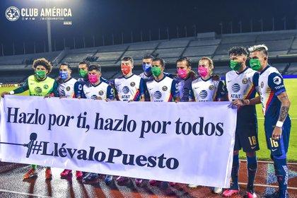 Hoy en día, el Club América se encuentra en la cuarta posición de la tabla general con 28 puntos (Foto: Twitter/ @ClubAmerica)