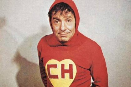 """Roberto Gómez Bolaños personificó al """"Chapulín Colorado"""", un héroe emparentado con Superman. (Foto: Archivo)"""