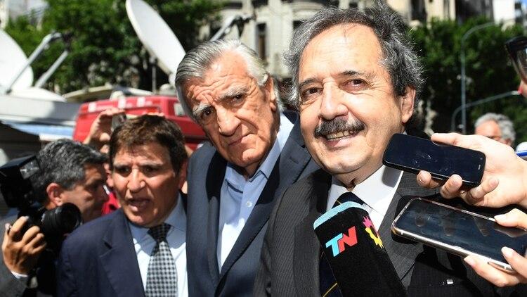El 10 de diciembre Ricardo Alfonsín estuvo invitado a la jura presidencial (Maximiliano Luna)
