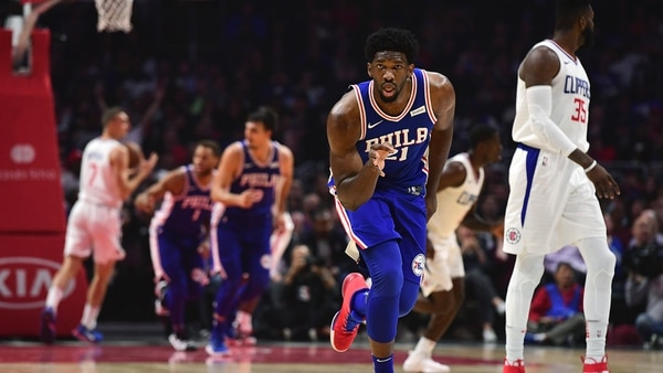 Joel Embiid es una de las figuras de los Philadelphia 76ers (Photo by Harry How/Getty Images)