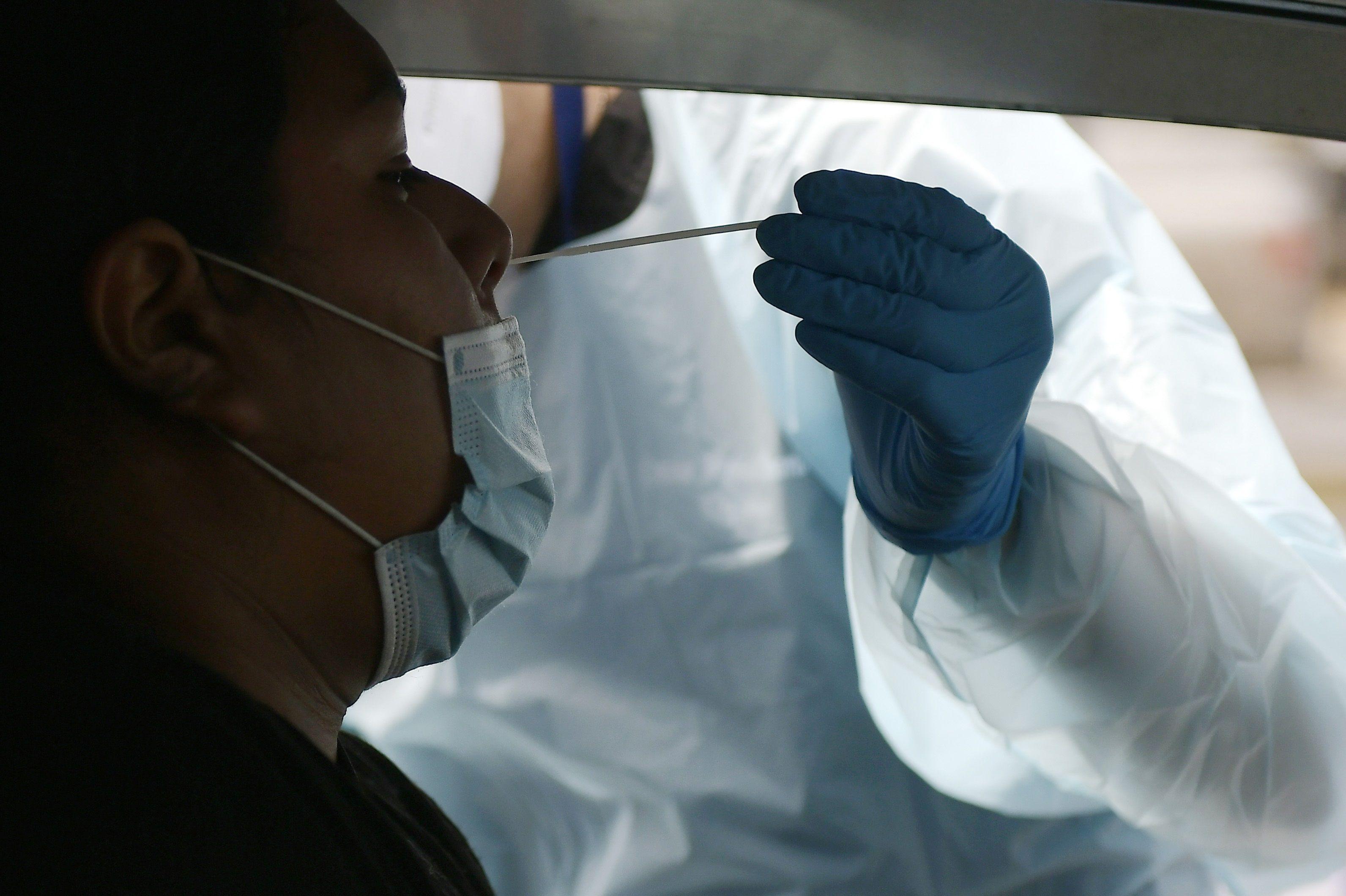 Prueba de coronavirus en Iquique, Chile (Europa Press)