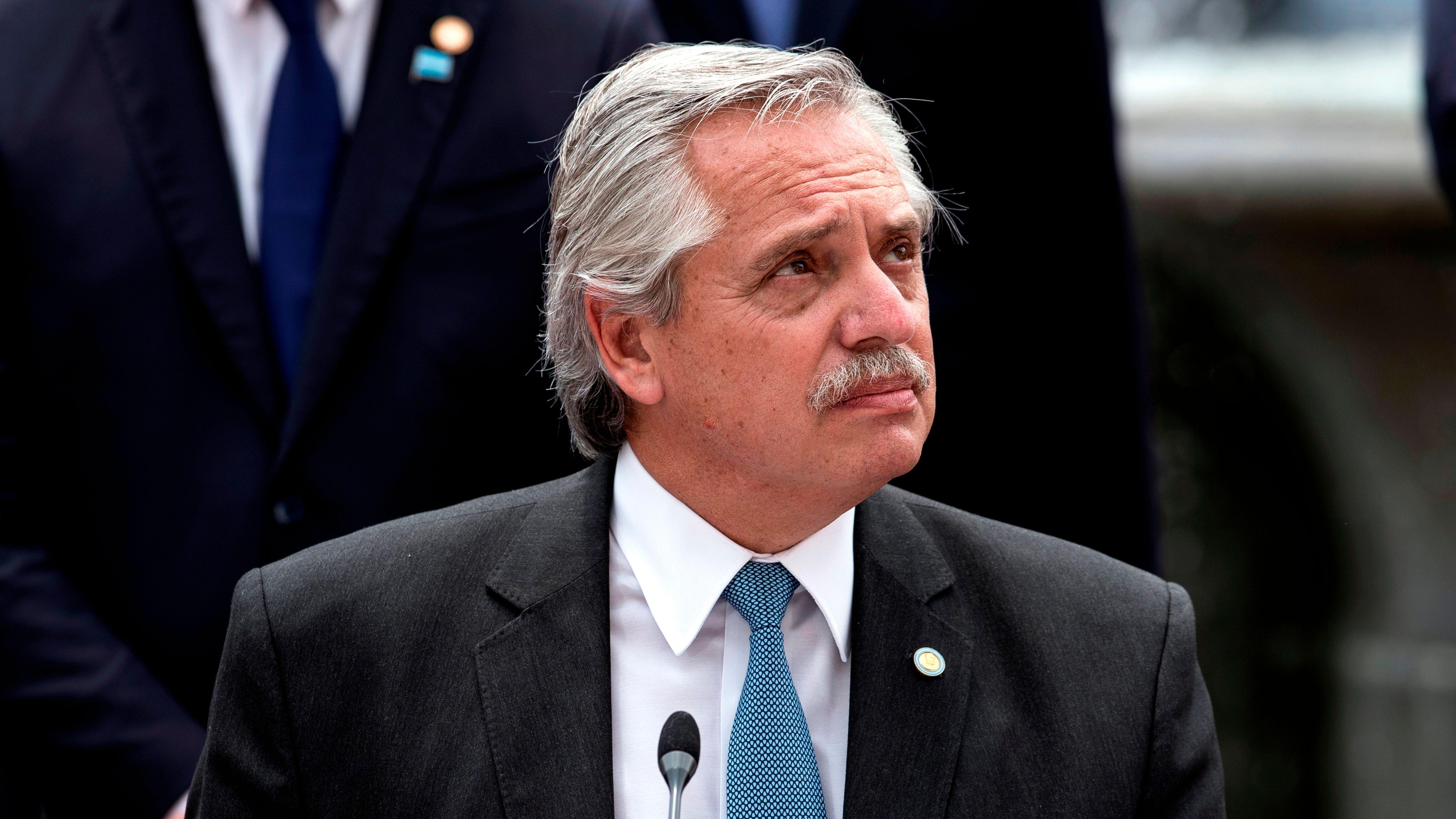 Alberto Fernández (EFE/Alberto Valdés/Archivo)