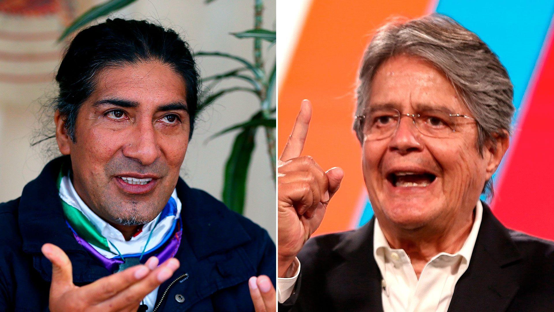 ecuador elecciones yaku perez guillermo lasso