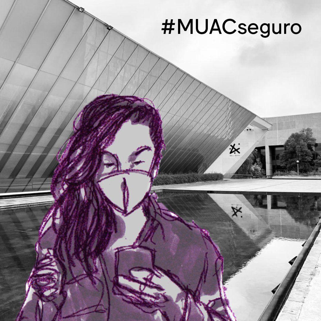 El MUAC emitió una serie de lineamientos sanitarios para garantizar seguridad al interior de sus instalaciones (Foto: Twitter@muac_unam)