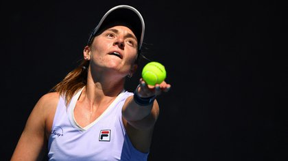 Podoroska logró su primer triunfo en Melbourne Park (AFP)