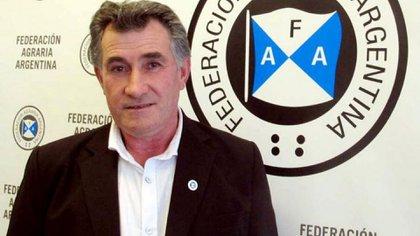 Carlos Achetoni, presidente de la Federación Agraria Argentina.