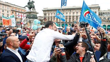 Salvini espera poder capitalizar su popularidad en elecciones anticipadas (Reuters)