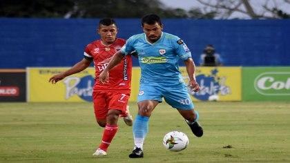 Jaguares se impuso ante Patriotas de Boyacá y suma puntos en la tabla. Crédito Dimayor Vizzor Images