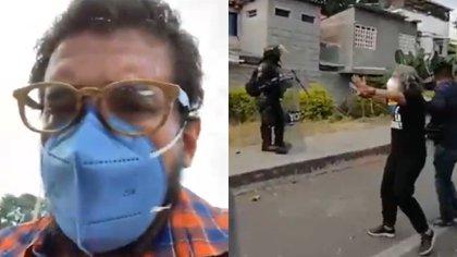 Así se vivió el cara a cara entre congresistas y el Esmad en medio de las protestas en Buga
