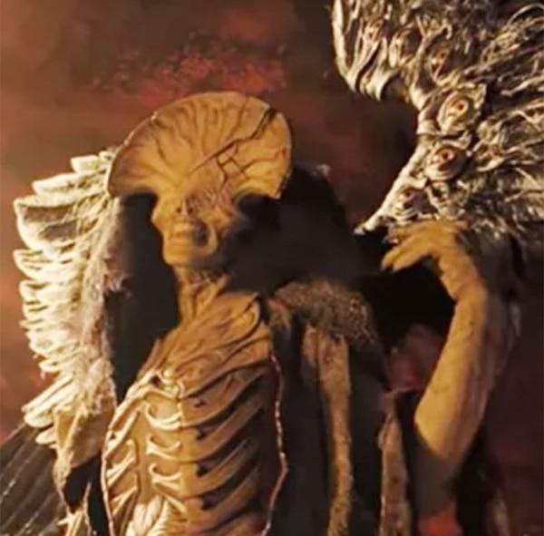 """Interpretando al """"Angel de la Muerte"""", en Hellboy II"""