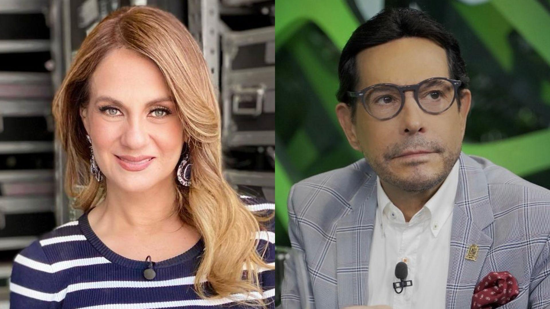 Flor Rubio y Juan José Origel (Foto: Instagram@florrubiooficial/@juanjoseorigel)