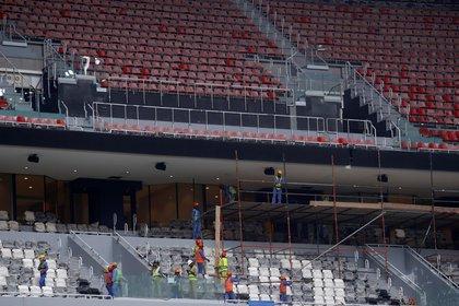 Le Qatar se prépare à accueillir la Coupe du monde fin 2022 (Photo: Reuters)
