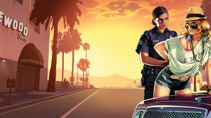 La imagen de una mujer detenida por una mujer policía, otro de los avatares que Lohan menciona en la demanda