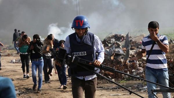 """""""Reporteros sin Fronteras"""" alerta del incremento de los periodistas muertos en los últimos tiempos (AFP)"""