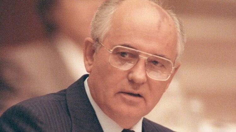 Mijail Gorbachov se convirtió en líder de la URSS en 1985