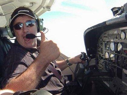 David Ibbotson, el piloto que comandaba la aeronave (Foto: Grimsby Live)