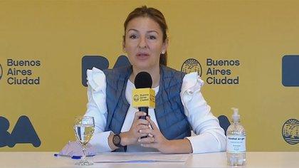 La ministra de Educación de la Ciudad, Soledad Acuña