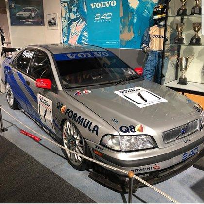 El S40, uno de los autos que está en el museo de Gotemburgo.