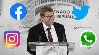 Ricardo Monreal presentará una iniciativa en el Senado para regular las redes sociales (Foto: Especial)