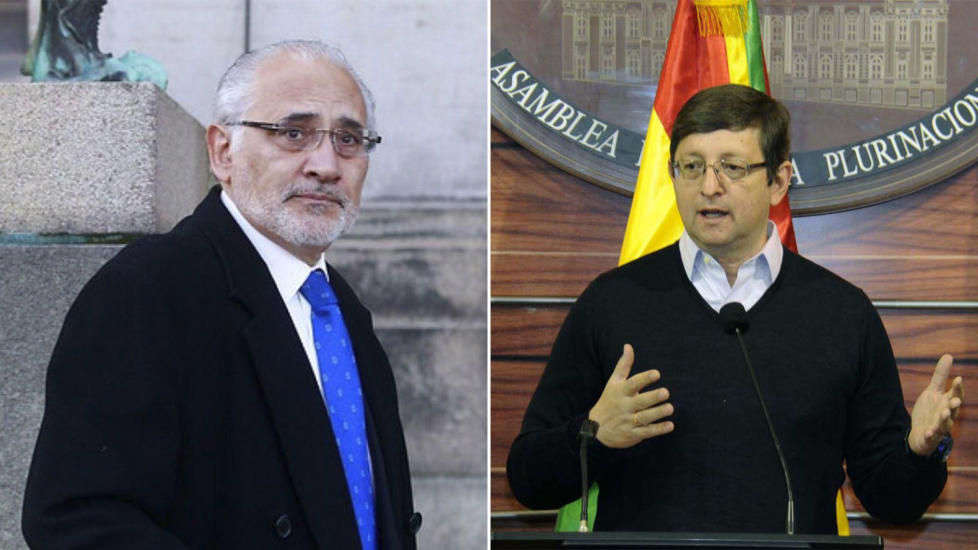 Carlos Mesa y Óscar Ortiz