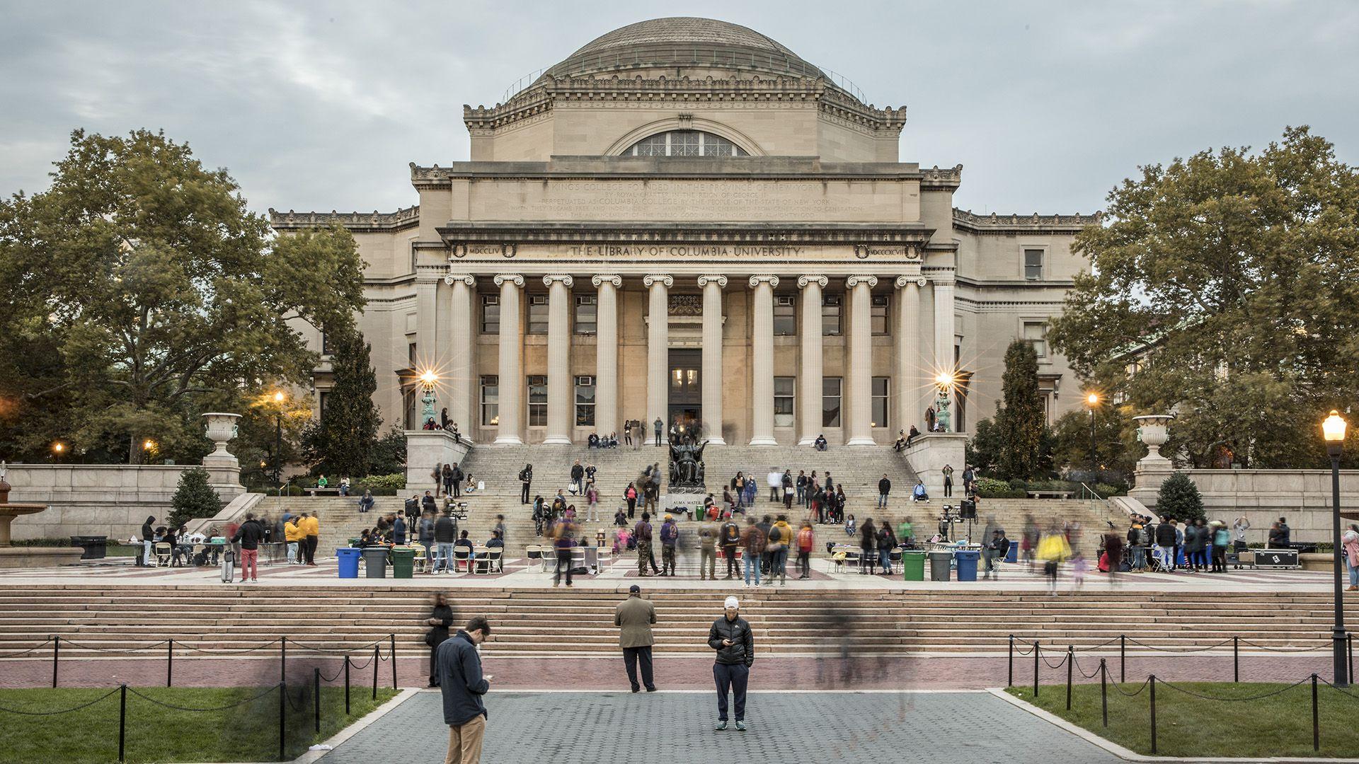 El campus en Nueva York de la Universidad de Columbia (Tony Cenicola/The New York Times)