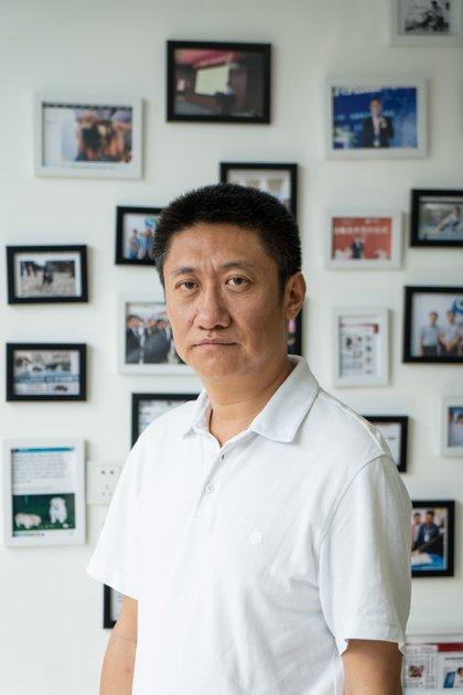Mi Jidong, director ejecutivo de Sinogene (Yan Cong para The New York Times)