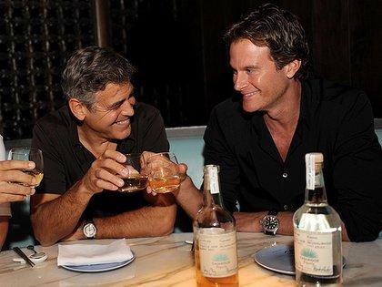 Clooney y Gadner fueron socios en una empresa de tequila que vendieron por una cifra millonaria (Crédito: Grosby Group)
