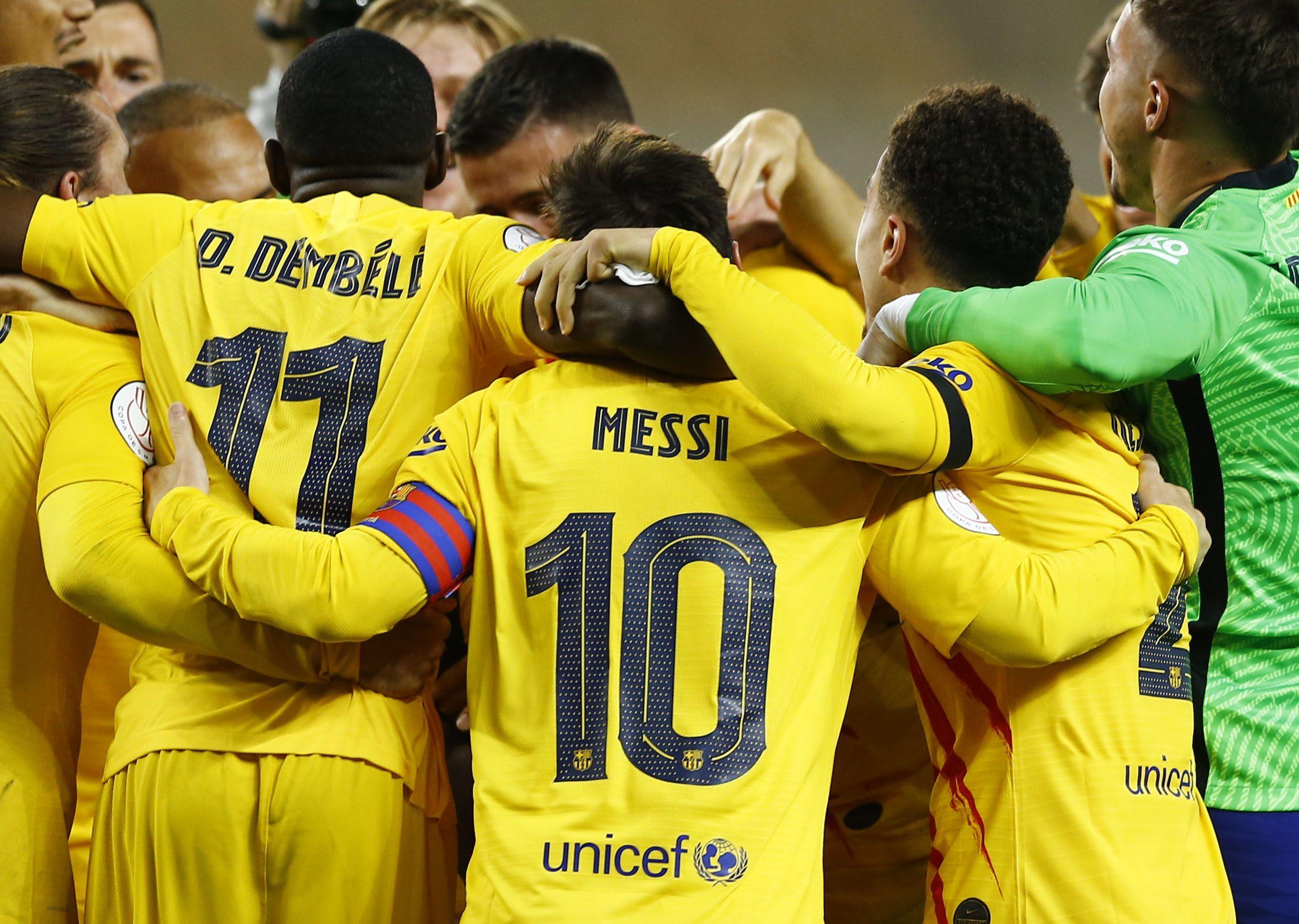 El Barcelona recibirá al Getafe en la primera de sus ocho finales en la liga (Reuters)