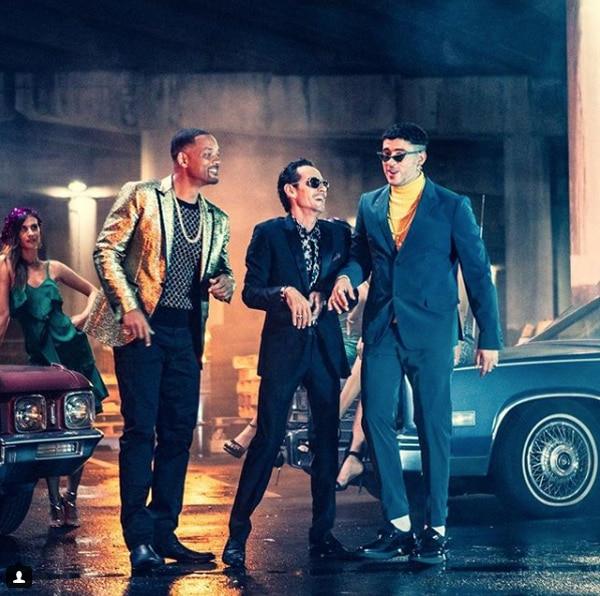 "Will Smith, Marc Anthony y Bad Bunny lanzaron ""Está rico"""