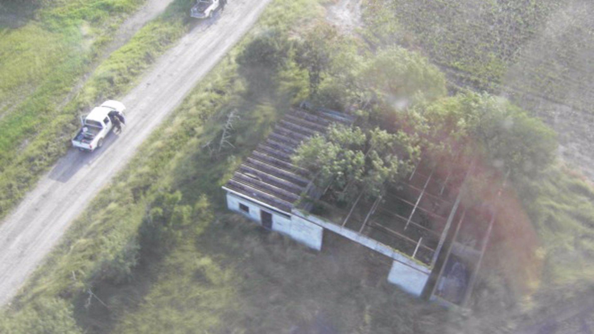 La propiedad donde se encontraron los cuerpos de la masacre de San Fernando (Foto: Especial)