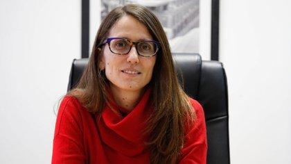 Elizabeth Gomez Alcorta, ministra de las Mujeres, Géneros y Diversidad de la Nación