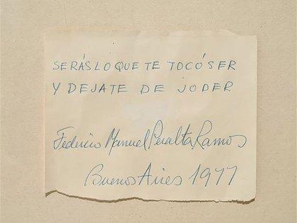 Federico Manuel Peralta Ramos, 1977