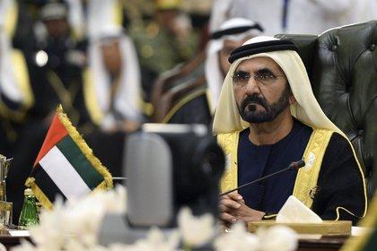 L'émir de Dubaï, Mohamed bin Rashid al Maktoum.  EFE / Raed Qutena / Archives