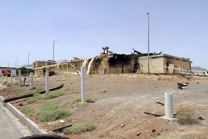 Daños en la instalación nuclear de Natanz (EFE)