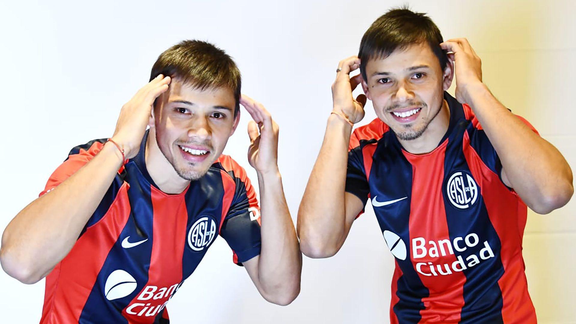 Los gemelos se separaron en 2015 y San Lorenzo los volvió a juntar (@SanLorenzo)