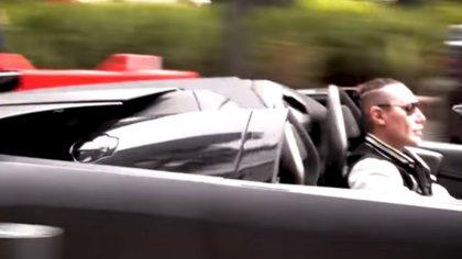 Urquiza amaba los autos caros (Captura de YouTube - Hair Empire)