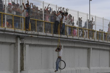 (Photo by Pedro PARDO / AFP)