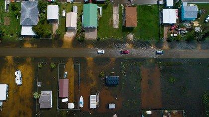 Ahora parece que cualquier agujero sobre Houston tendría (Foto: AP)