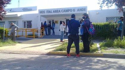 El ataque ocurrió en la playa de estacionamiento del hospital de Campo Grande