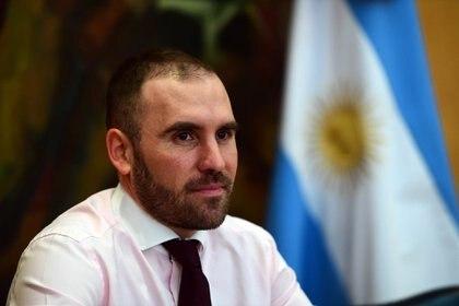Ministro de Economía, Martín Guzmán. El martes presentará los retoques a las condiciones legales de la restructuración (Maximiliano Luna)