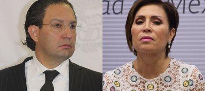 Rosario Robles y  Emilio Zebadúa (Foto: Cuartoscuro)