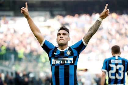 Lautaro Martínez lleva 17 goles en 31 partidos con el Inter en la temporada 2019/20 (REUTERS)