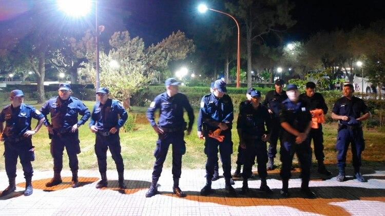 En Selva, desde hace seis días se montó un operativo policial especial para evitar la circulación de la gente