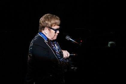 Elton John cantará en la boda real (Getty Images)