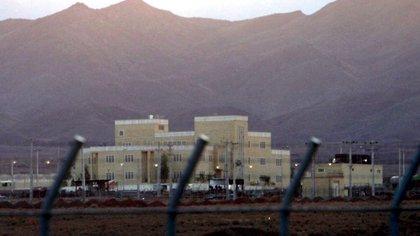 Il complesso nucleare di Natanz in Iran (EFE / Abedin Taherkenarh / Archivio)