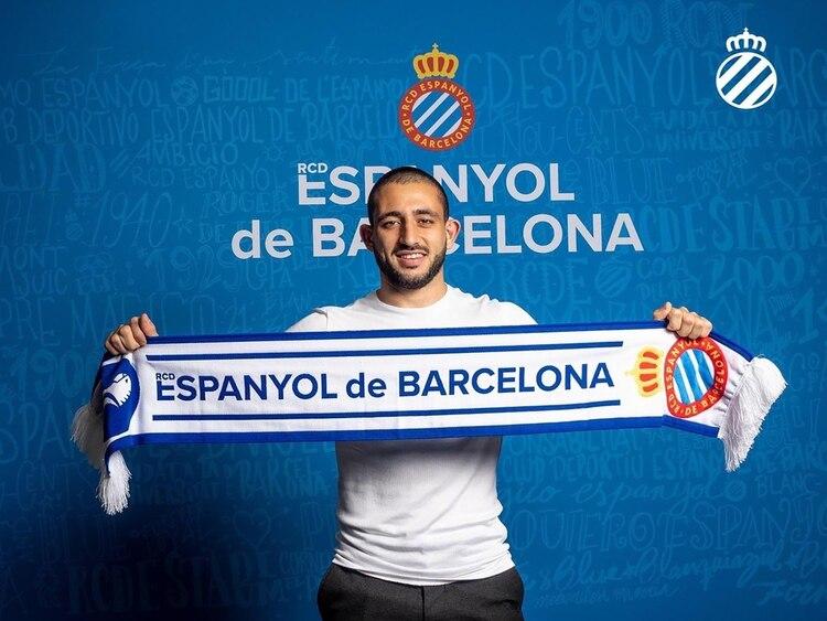 El Monito se mudó de Vélez al Espanyol y mostró rápida adaptación al fútbol ibérico (Foto: @RCDEspanyol)