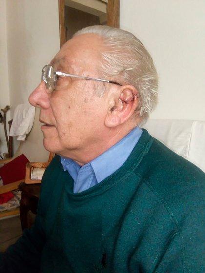Oscar Sasso tiene 71 años y es un conocido veterinario, ya jubilado